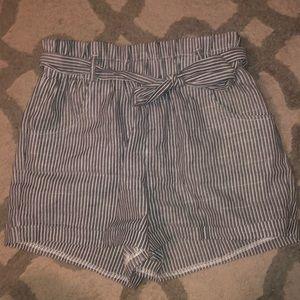 Pants - Paper bag shorts